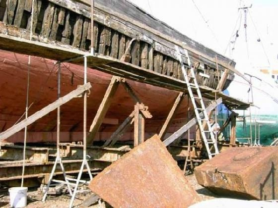 træskibe til salg